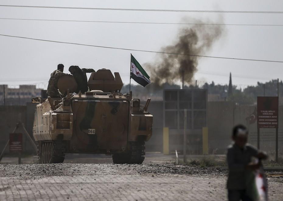 Συρία: Οι Κούρδοι αποχώρησαν από τη ζώνη ασφαλείας, σύμφωνα με τις ΗΠΑ
