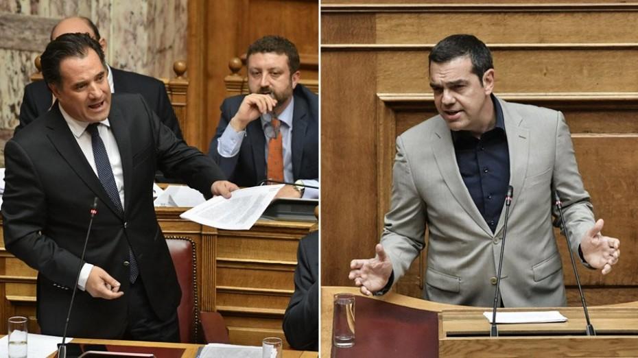 «Μονομαχία» Γεωργιάδη με Τσίπρα στη Βουλή