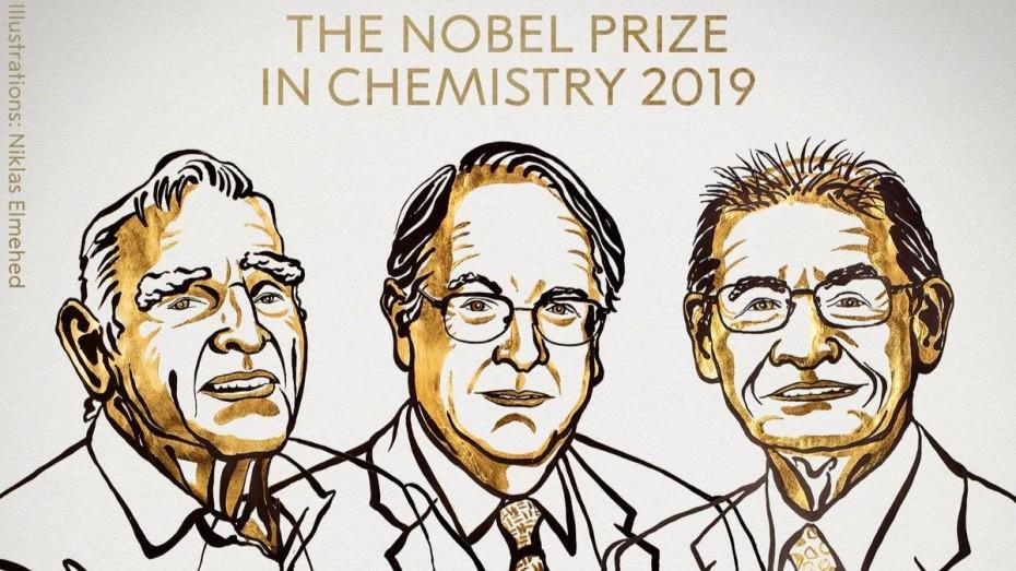 Το Νόμπελ Χημείας σε 3 επιστήμονες για τις μπαταρίες ιόντων λιθίου
