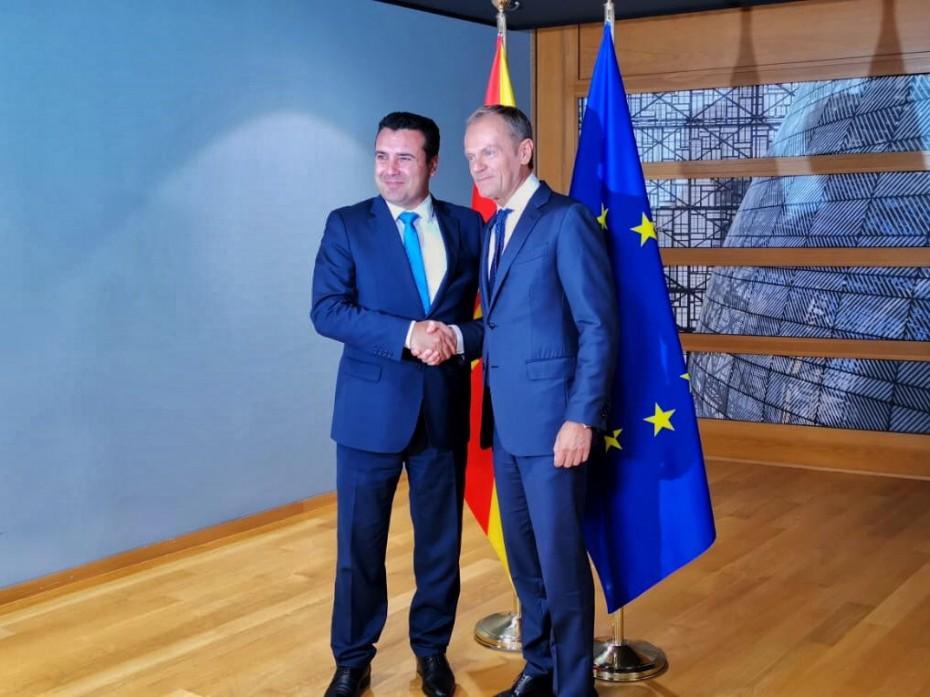 Και πάλι ο Ζάεφ προς την ΕΕ, μετά το «πάγωμα» των ενταξιακών συζητήσεων