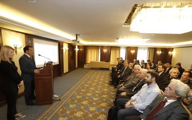 Και πάλι ο Γεωργιάδης για την οικονομική συνεργασία με την Κίνα