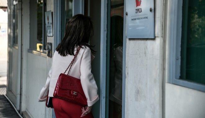 Στο γραφείο του Τσίπρα η Γιάννα Αγγελοπούλου