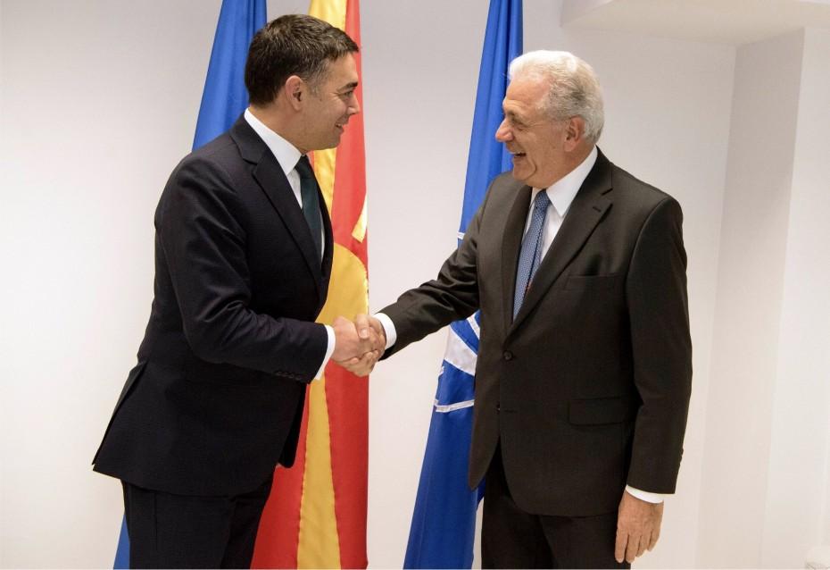 Αισιόδοξος ο Αβραμόπουλος για την ένταξη Β. Μακεδονίας και Αλβανίας στην ΕΕ