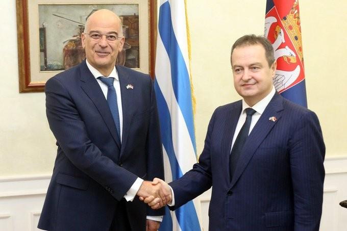 Δένδιας: Στηρίζουμε την ένταξη Β. Μακεδονίας και Αλβανίας στην ΕΕ