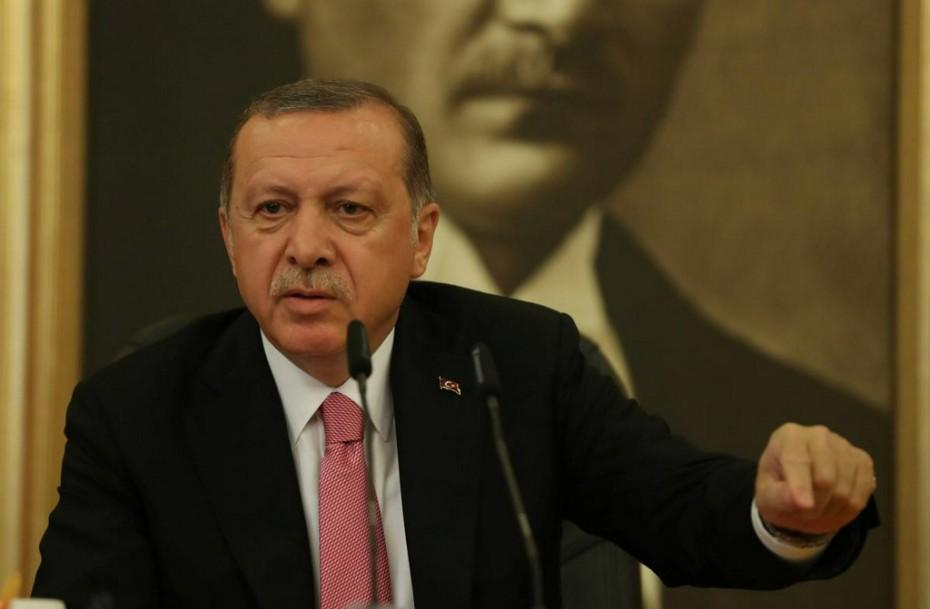Νέες απειλές Ερντογάν κατά της Κύπρου