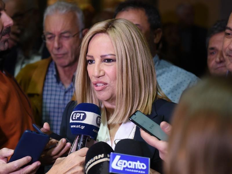 Η Γεννηματά θέλει το ΚΙΝΑΛ να γίνει η «πραγματική κυβερνώσα αριστερά»