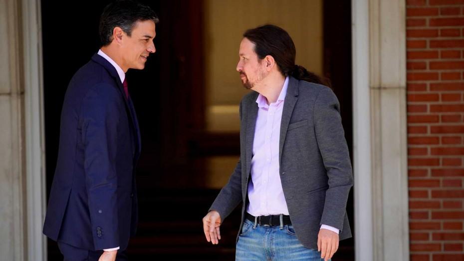 Συμφωνία Σάντσεθ με Ιγκλέσιας για κυβέρνηση στην Ισπανία