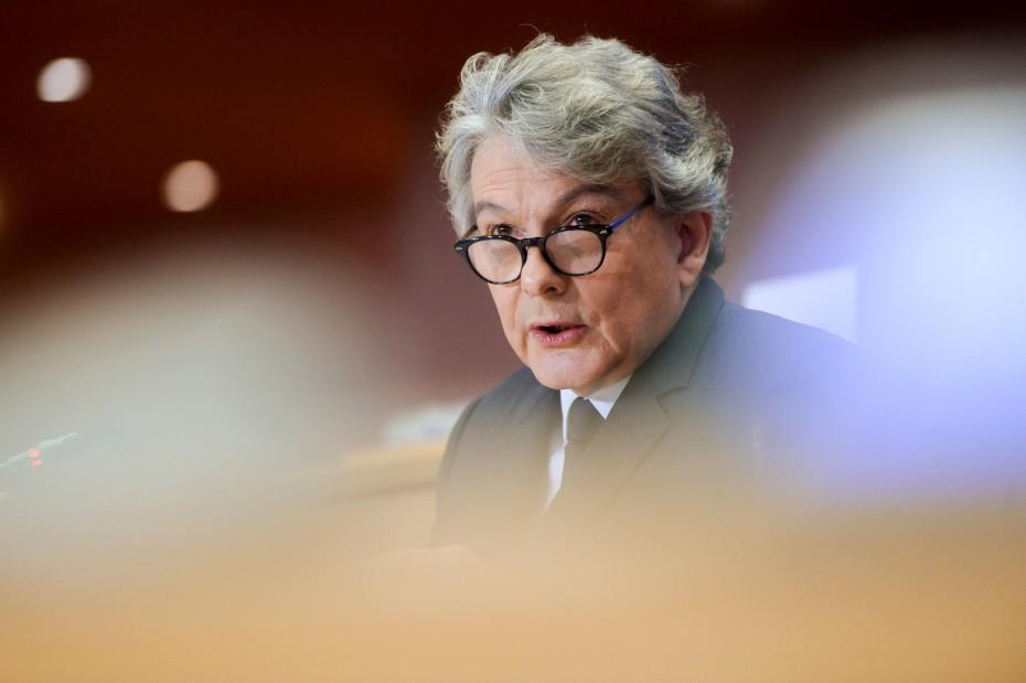 Κομισιόν: Νέος Επίτροπος Εσωτερικής Αγοράς ο Τιερί Μπρετόν