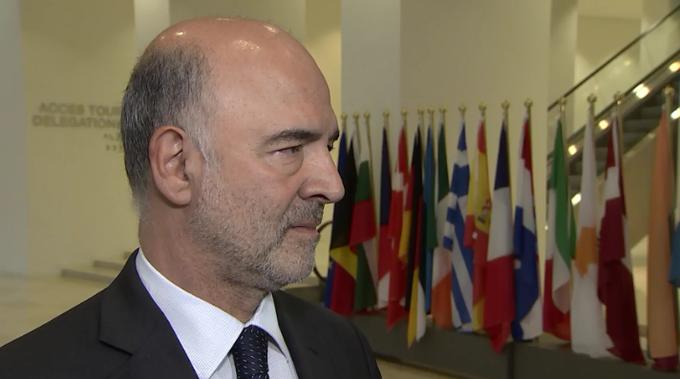 Και πάλι ο Μοσκοβισί για μείωση των πρωτογενών πλεονασμάτων της Ελλάδας