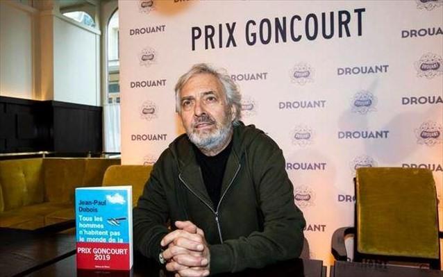 Γαλλία: Στον Ζαν - Πολ Ντιμπουά το λογοτεχνικό βραβείο Goncourt