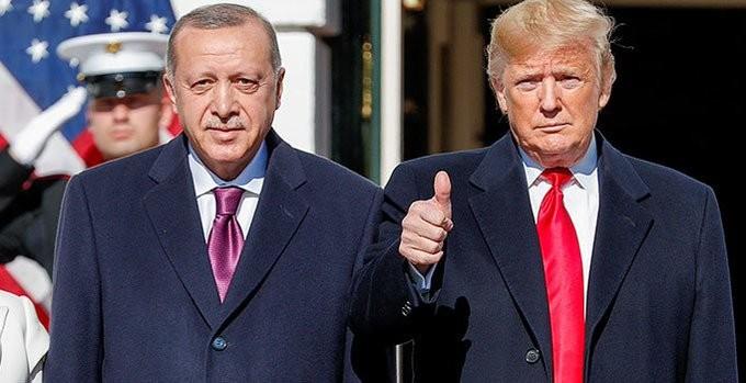 Ο Τραμπ υποδέχτηκε τον Ερντογάν στο Λευκό Οίκο