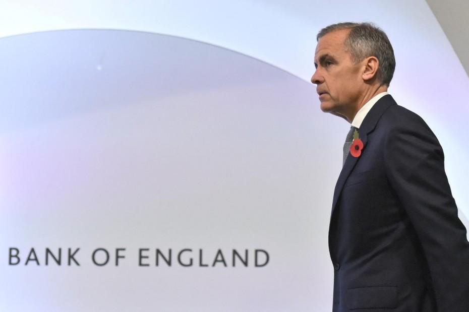 Σταθερά τα επιτόκια της BoE - Νέες ανησυχίες για Brexit και δασμούς