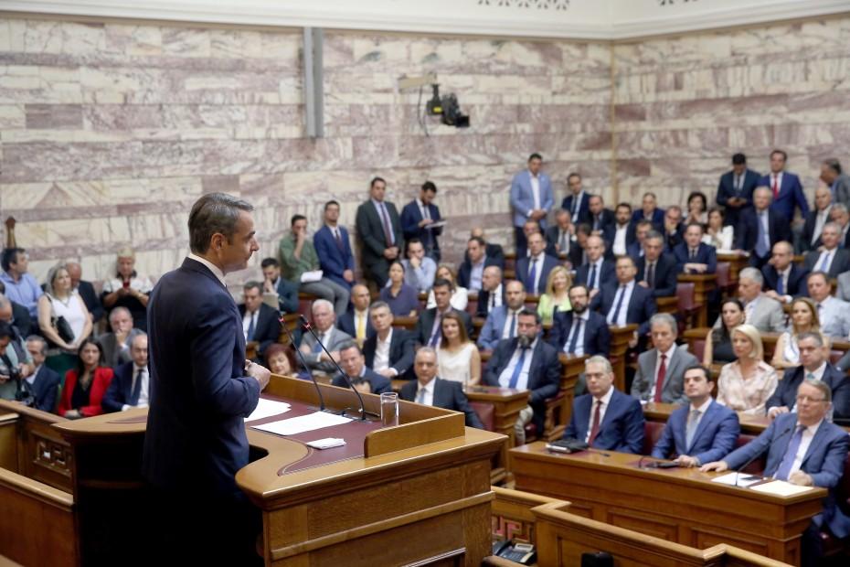 «Γαλάζια» πυρά στη Βουλή για τους ποινικούς κώδικες