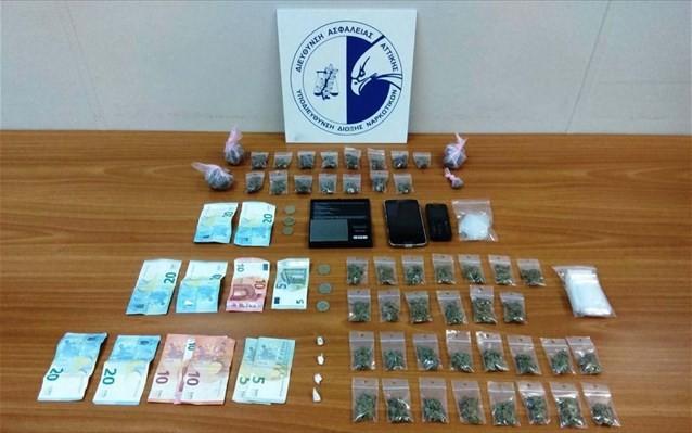 Νέες συλλήψεις στην πλατεία Εξαρχείων για ναρκωτικά