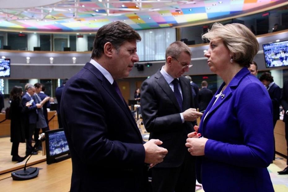 Ισχυρή καταδίκη της ΕΕ στη συμφωνία Τουρκίας - Λιβύης θέλει ο Βαρβιτσιώτης