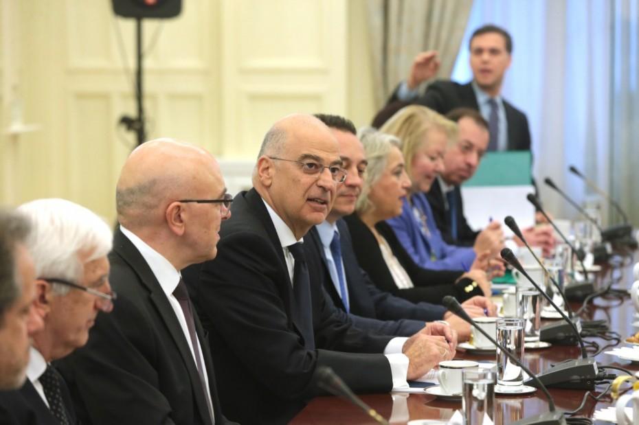 Σε εξέλιξη η συνεδρίαση του ΕΣΕΠ για την τουρκική προκλητικότητα