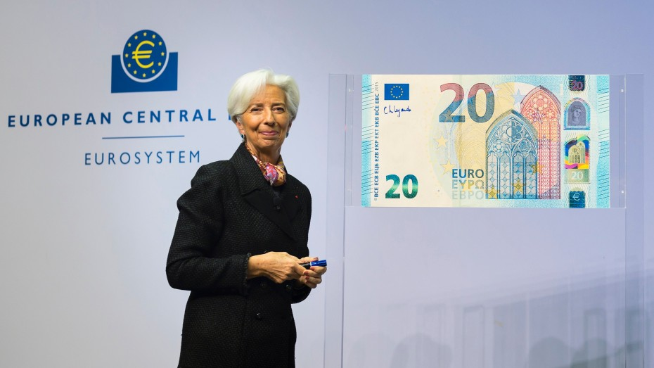 Συγκρατημένα αισιόδοξη η Λαγκάρντ για την Ευρωζώνη