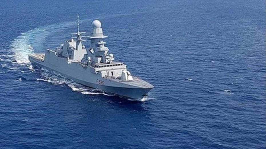 Η Ιταλία έστειλε φρεγάτα στην Κύπρο, γράφει η Repubblica