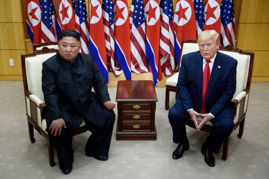 Σφοδρή αντίδραση της Βόρειας Κορέας στα σχόλια του Τραμπ για τον Κιμ
