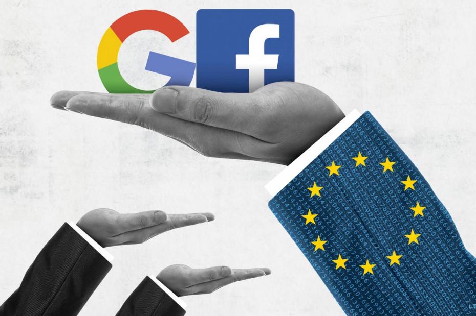 Νέα έρευνα της ΕΕ σε Google και Facebook για τα προσωπικά δεδομένα