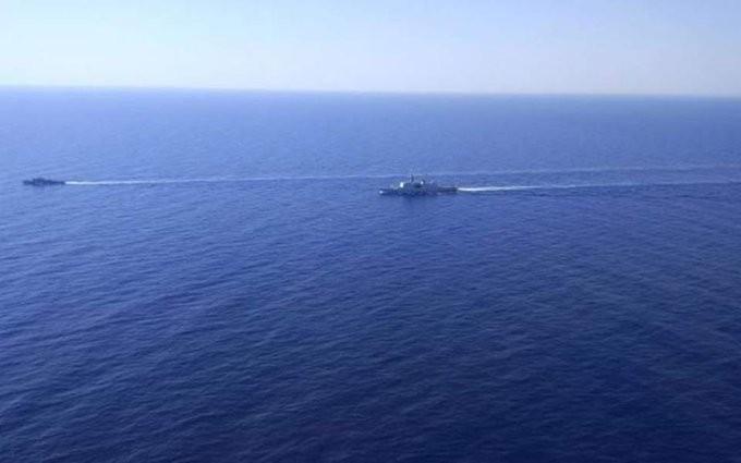 Κοινή ναυτική άσκηση Κύπρου, Γαλλίας και Ιταλίας στην ΑΟΖ