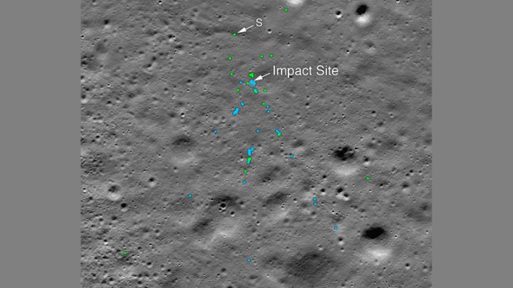 H ΝASA εντόπισε ινδικό σκάφος που συνετρίβει στη Σελήνη