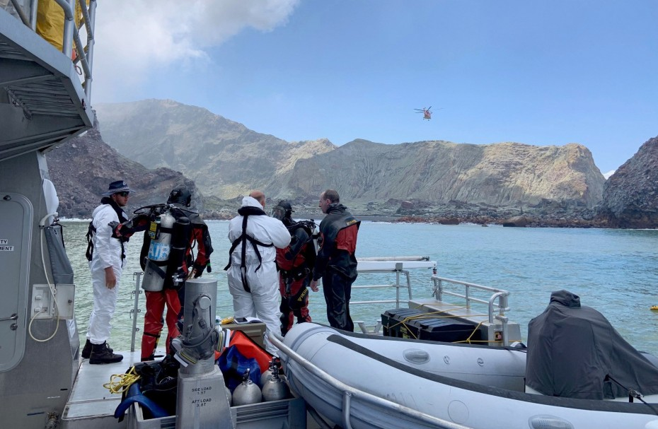 Τουλάχιστον 18 οι νεκροί από την ηφαιστειακή έκρηξη στη Ν. Ζηλανδία