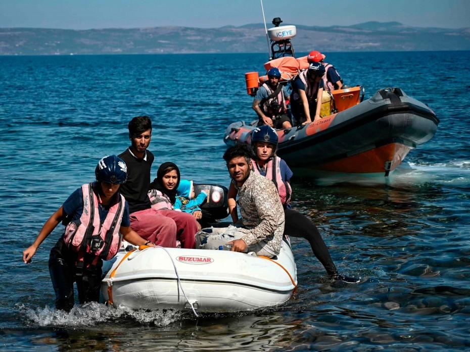 Πάνω από 7.000 νέοι πρόσφυγες στα νησιά τον Νοέμβριο