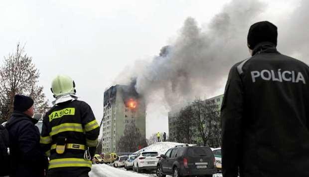 Τουλάχιστον 5 νεκροί από ισχυρή έκρηξη στη Σλοβακία