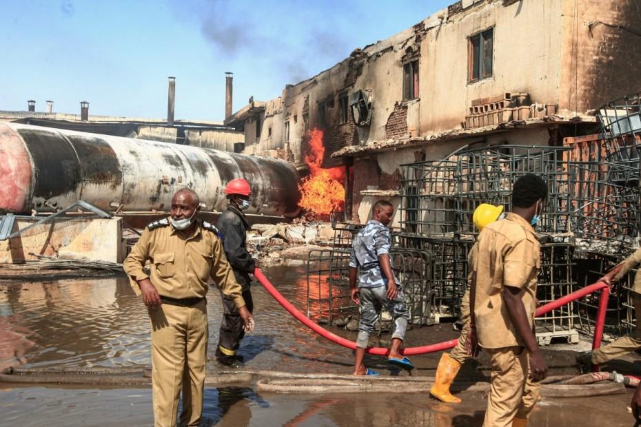 Τουλάχιστον 23 νεκροί και 130 τραυματίες από έκρηξη στο Σουδάν
