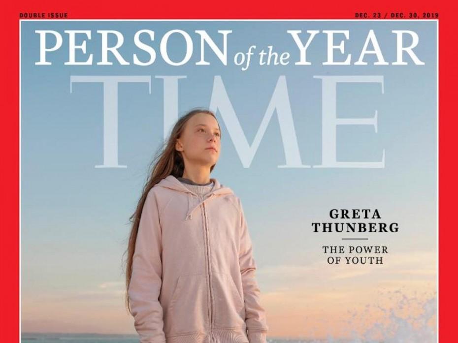 Η Γκρέτα Τούνμπεργκ πρόσωπο της χρονιάς του 2019 για το ΤΙΜΕ