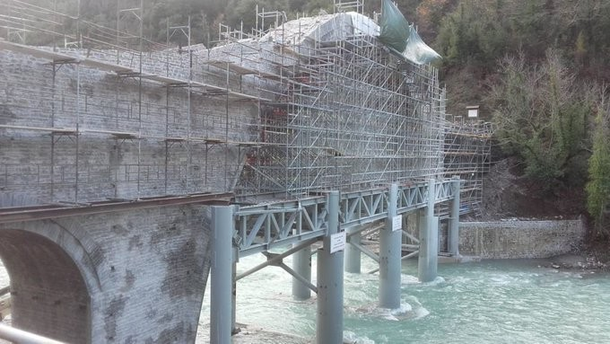 Αναστυλώθηκε το γεφύρι της Πλάκας, στα Τζουμέρκα