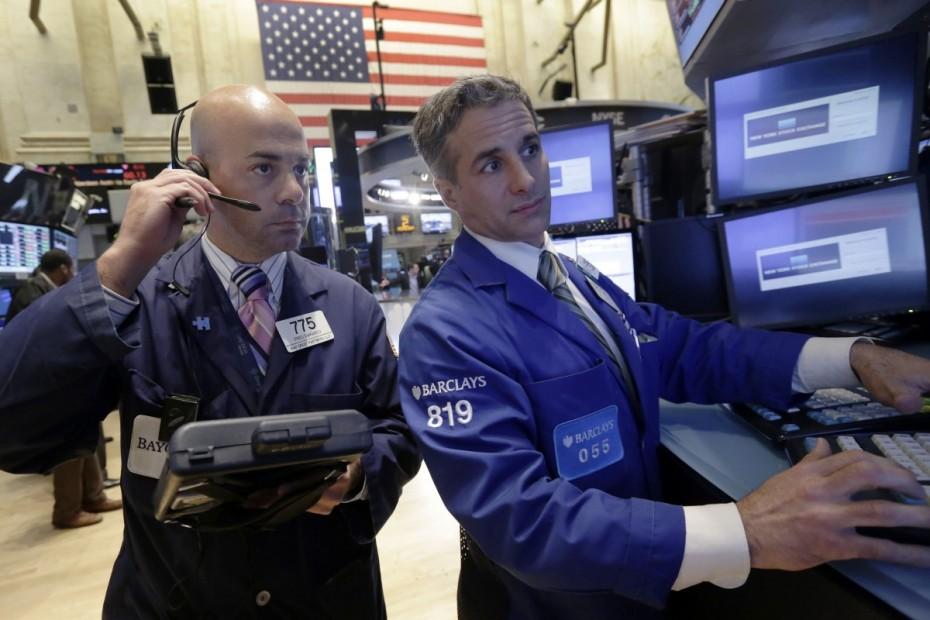 «Χειρόφρενο» στη Wall Street πριν από τη Fed