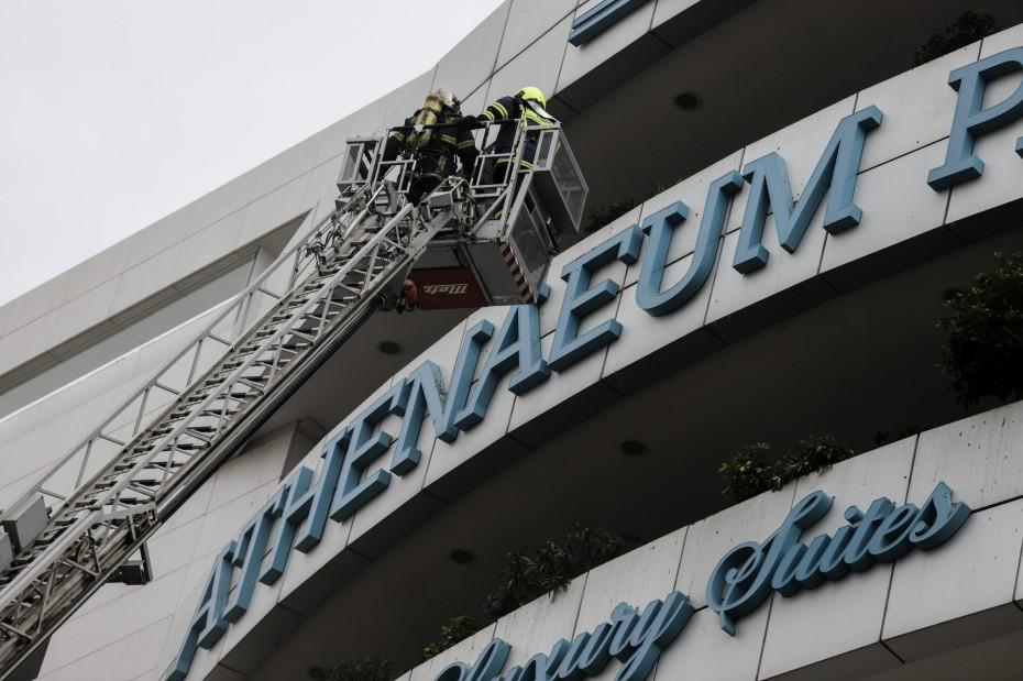 Επίσημα από εμπρησμό η μεγάλη πυρκαγιά στο ξενοδοχείο της Λ. Συγγρού