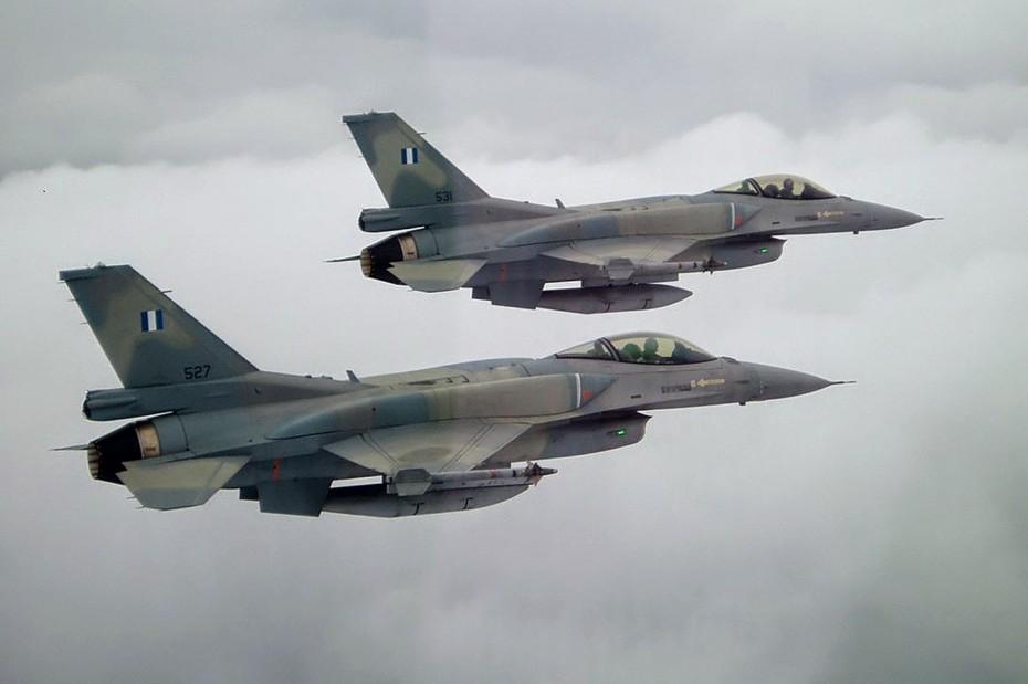Υπερπτήσεις τουρκικών F-16 πάνω από τους Λειψούς