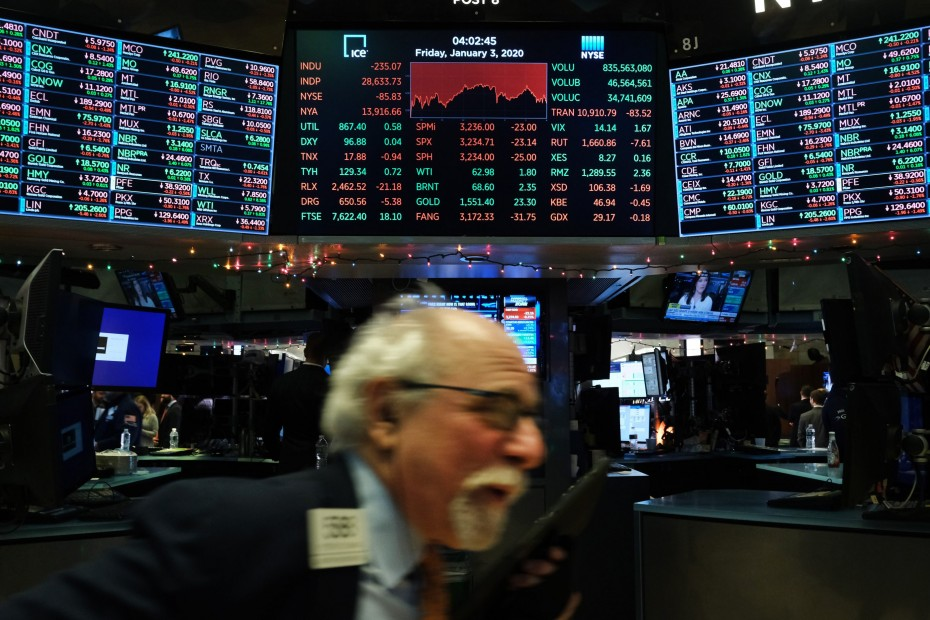 Με νέα ρεκόρ η Wall Street την Παρασκευή