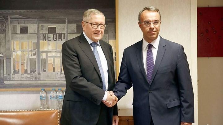 Στις Βρυξέλλες ο Σταϊκούρας για το Eurogroup της Δευτέρας