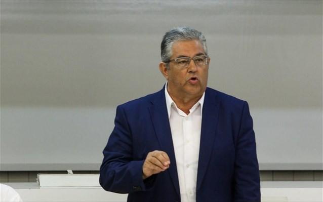 Κουτσούμπας: Να δυναμώσει ο αγώνας για να απεγκλωβιστούμε από το ΝΑΤΟ