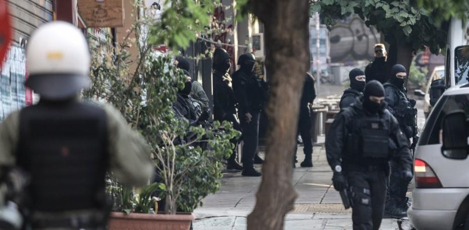 Νέες συλλήψεις στα Εξάρχεια από την αστυνομία