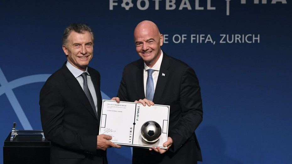 Ο πρώην πρόεδρος της Αργεντινής διορίσθηκε πρόεδρος του Ιδρύματος της FIFA