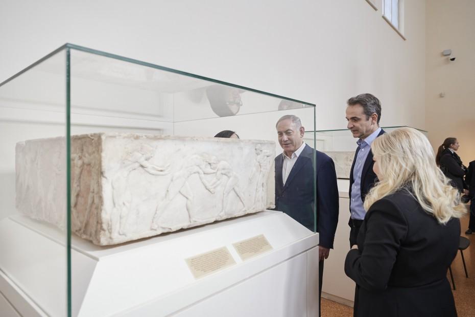 Τι είδαν στο Μουσείο της Ακρόπολης ο Μητσοτάκης με τον Νετανιάχου