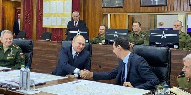 Επίσκεψη Πούτιν στη Συρία - Εκ νέου στήριξη στον Άσαντ