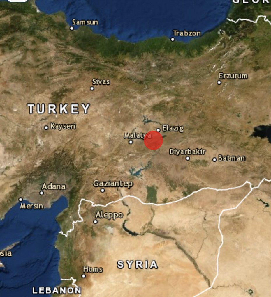 Αποτέλεσμα εικόνας για Ελαζίγ στην ανατολική Τουρκία.