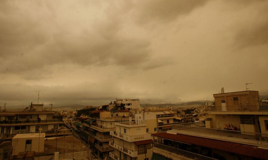 Ο καιρός σήμερα: Βροχές και αφρικανική σκόνη