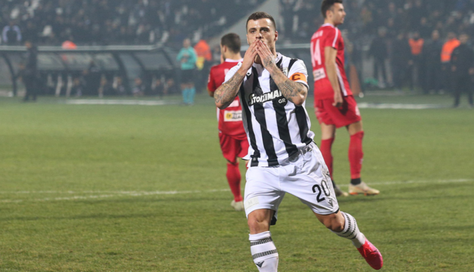 Super League: Με την Τούμπα να «βράζει», ο ΠΑΟΚ νίκησε 1-0 τον Βόλο