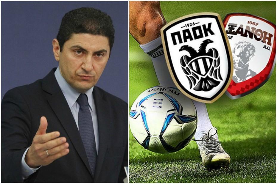 Την παραίτηση Αυγενάκη ζητά ο ΣΥΡΙΖΑ - «Χάος στο ποδόσφαιρο»