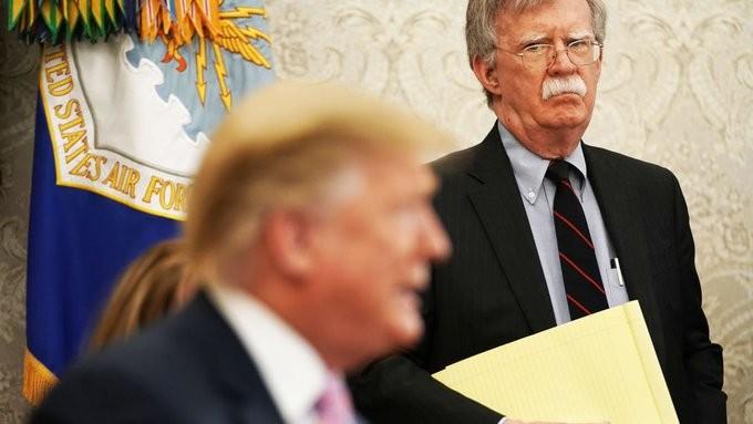 Τραμπ: Αν άκουγα τον Μπόλτον, θα είχε ξεσπάσει έκτος παγκόσμιος πόλεμος