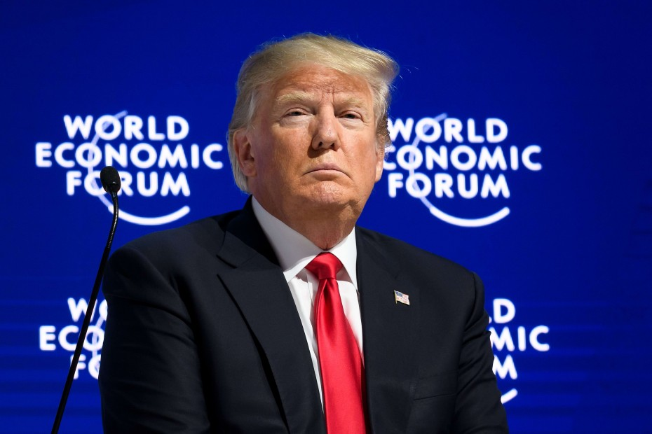 Ανακοινώθηκε η συμμετοχή του Τραμπ στο οικονομικό Φόρου του Νταβός