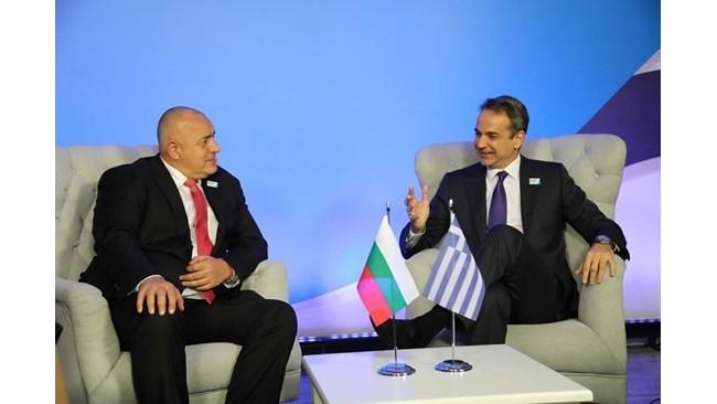 Η συνεργασία Ελλάδας - Βουλγαρίας στη συνάντηση Μητσοτάκη με Μπορίσοφ