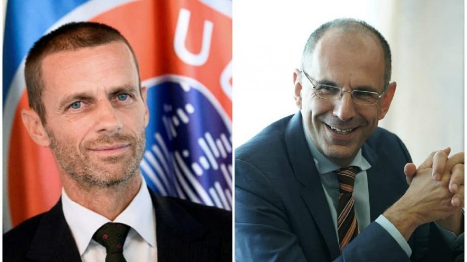 Γεραπετρίτης σε UEFA: Grexit για τις ομάδες που παραβαίνουν τους κανόνες